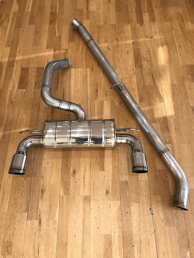 "ND 3"" Full Exhaust SS System"