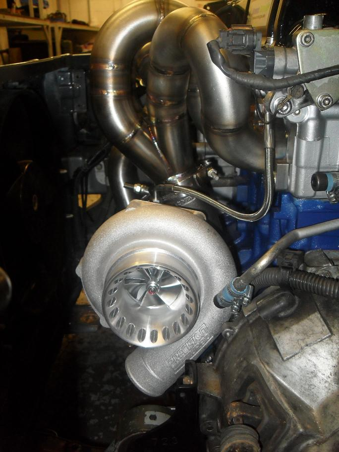 ND7.5R G2 V Band Turbo Kit