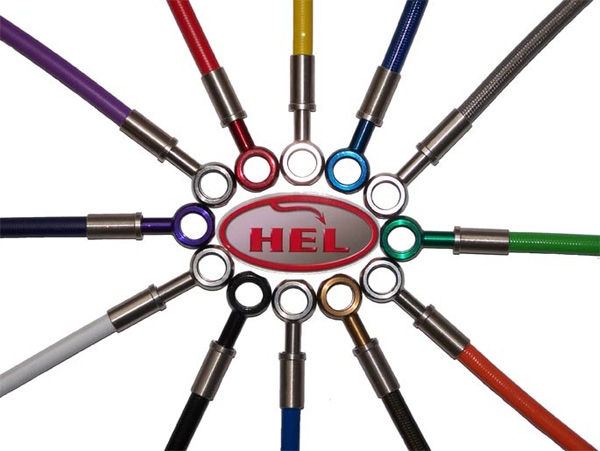 HEL Braided Hose Kit (Front & Rear)