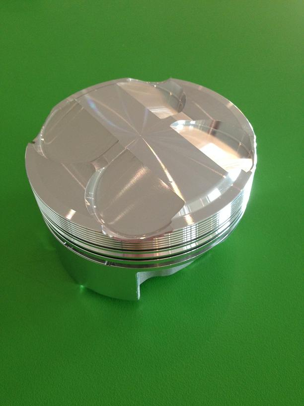 JE 2.2 High Compression Piston Kit 10.5 to 11.5 to 1